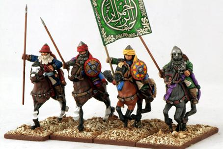 Gripping Beast 28mm Armies Of Islam: Seljuk Heavy Cavalry (Lance Upright) (4)