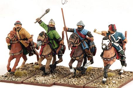Gripping Beast 28mm Armies Of Islam: Seljuk Horse Archers (Command) (4)