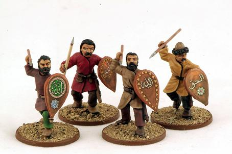 Gripping Beast 28mm Armies Of Islam: Seljuk Light Infantry (4)