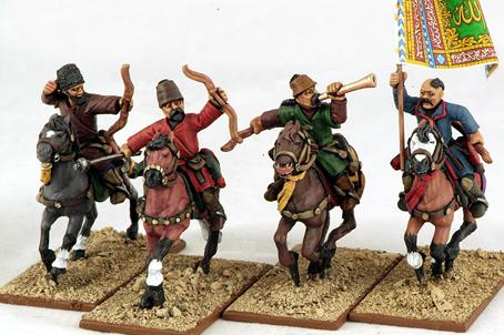 Gripping Beast 28mm Armies Of Islam: Turcoman Horse Archers (Command) (4)