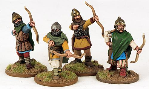 Gripping Beast 28mm Byzantine: Russian- City Militia Archers (4)