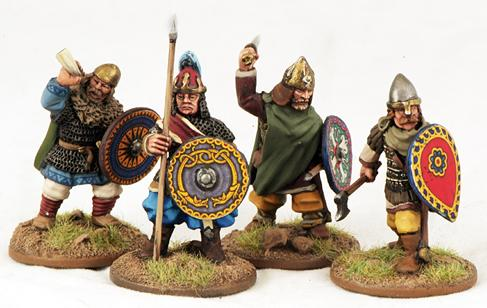 Gripping Beast 28mm Byzantine: Russian- City Militia Command (4)