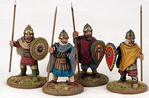 Gripping Beast 28mm Byzantine: Russian- City Militia Standing (4)