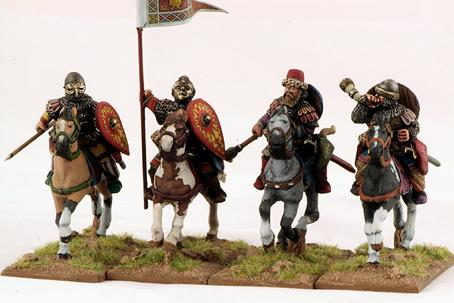 Gripping Beast 28mm Byzantine: Russian- Druzhina Cavalry Command (4)
