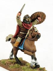 Gripping Beast 28mm Byzantine: Russian- Mounted Russian Warlord (1)
