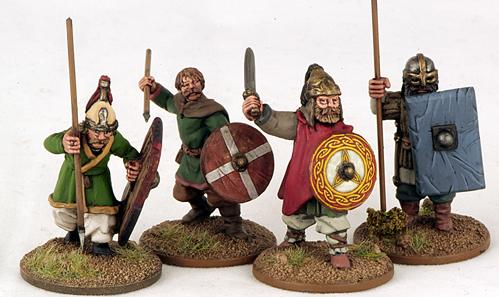 Gripping Beast 28mm Byzantine: Russian- Warriors #2 (4)