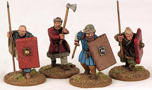 Gripping Beast 28mm Byzantine: Russian- Warriors #3 (4)