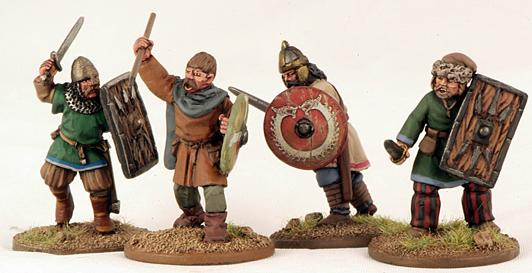 Gripping Beast 28mm Byzantine: Russian- Warriors #4 (4)