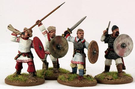 Gripping Beast 28mm Byzantine: Slavic- Warrior Command (4)