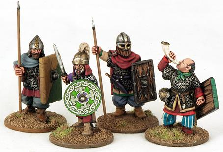 Gripping Beast 28mm Byzantine: Varjazi- Command (4)