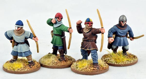 Gripping Beast 28mm Early Crusade: Archers (4)