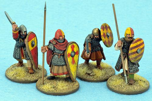 Gripping Beast 28mm Early Crusade: Dismounted Knights #1 (4)
