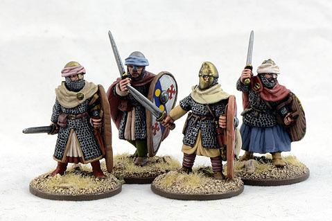 Gripping Beast 28mm Early Crusade: Dismounted Knights #2 (4)