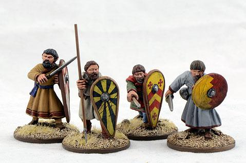 Gripping Beast 28mm Early Crusade: Dismounted Sergeants #2 (4)