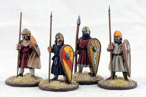Gripping Beast 28mm Early Crusade: Dismounted Sergeants #3 (4)