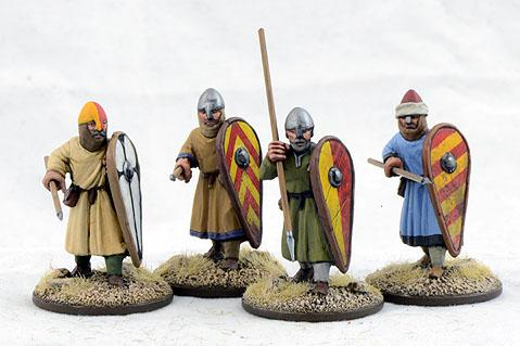 Gripping Beast 28mm Early Crusade: Dismounted Sergeants #4 (4)