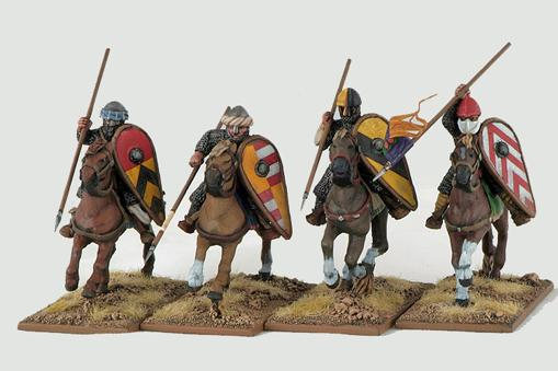 Gripping Beast 28mm Early Crusade: Mounted Knights #2 (4)