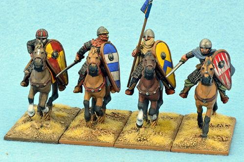 Gripping Beast 28mm Early Crusade: Mounted Knights #3 (4)