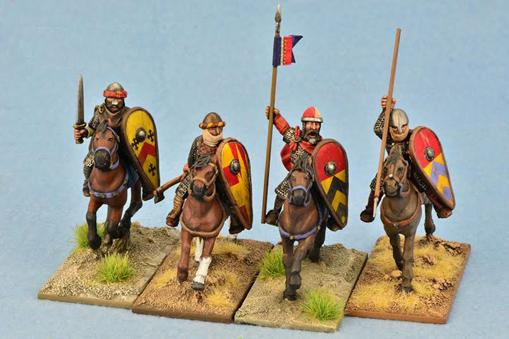 Gripping Beast 28mm Early Crusade: Mounted Knights #4 (4)