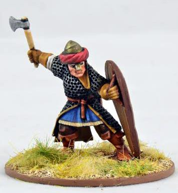 Gripping Beast 28mm Early Crusade: Warlord on foot #1 (1)