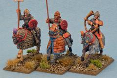 Gripping Beast 28mm Historical: Late Roman Cataphract Command (3)