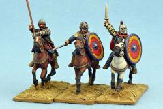 Gripping Beast 28mm Historical: Late Roman Cavalry Command #1 (3)