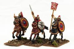 Gripping Beast 28mm Historical: Late Roman Cavalry Command #2 (3)