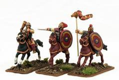 Gripping Beast 28mm Historical: Late Roman Cavalry Command #3 (3)