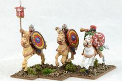 Gripping Beast 28mm Historical: Late Roman Cavalry Command #4 (3)