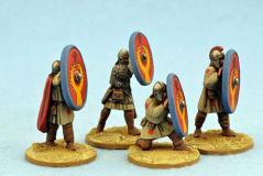 Gripping Beast 28mm Historical: Late Roman Infantry Shieldwall #1 (4)