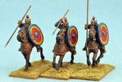 Gripping Beast 28mm Historical: Late Roman Unarmoured Cavalry (Crested Helmets) (3)