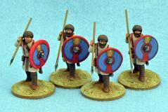 Gripping Beast 28mm Historical: Late Roman Unarmoured Infantry (Standing Ready) (4)