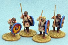 Gripping Beast 28mm Historical: Late Roman Unarmoured Infantry (advancing)