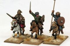 Gripping Beast 28mm: Huns- Hun General, Hero & Army Standard Bearer (3)