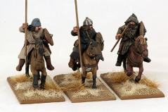 Gripping Beast 28mm: Huns- Huns with Spear (3)