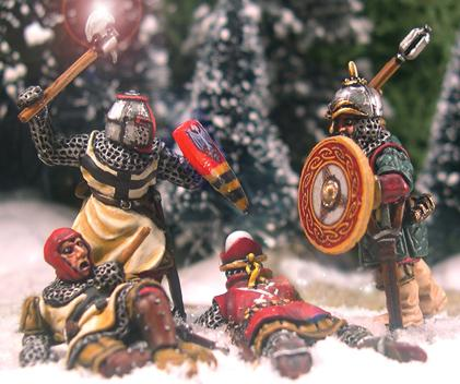 Gripping Beast 28mm Later Crusades: Death In The Snow Vignette (3)