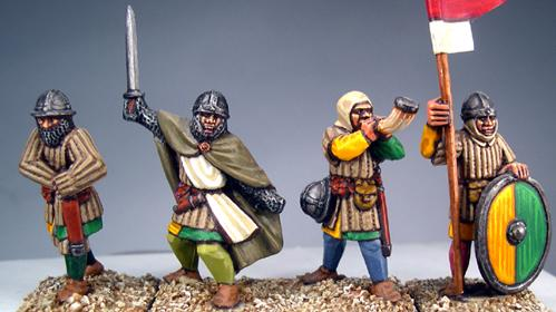 Gripping Beast 28mm Later Crusades: Frankish Foot Command (4)