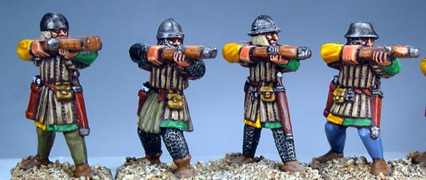 Gripping Beast 28mm Later Crusades: Frankish Foot (Crossbowmen) (Shooting) (4)