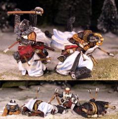 Gripping Beast 28mm Later Crusades: Mounted Teutonic Casualties (4)