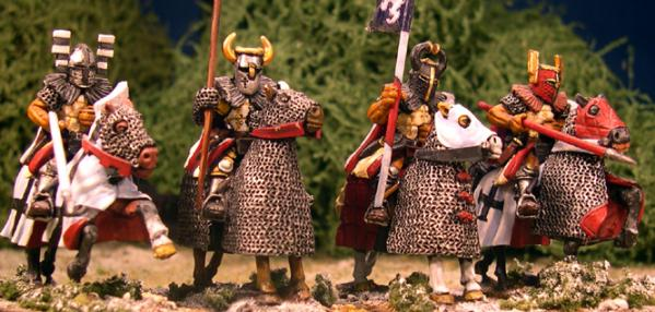 Gripping Beast 28mm Later Crusades: Mounted Teutonic Knight (Lances) (4)