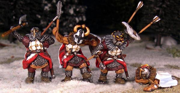 Gripping Beast 28mm Later Crusades: Teutonic Foot Casualties (4)