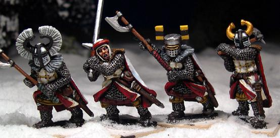 Gripping Beast 28mm Later Crusades: Teutonic Foot Knights (Great Weapons) (4)