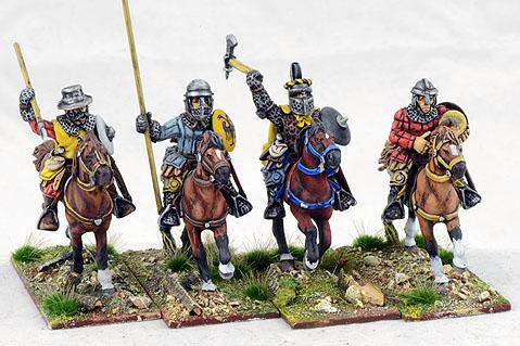 Gripping Beast 28mm Later Crusades: Teutonic Turkopolen Command (4)