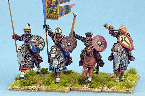 Gripping Beast 28mm Medieval Russian: Junior Druzhina (Command) (4)