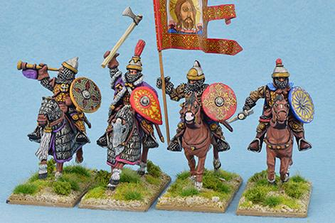 Gripping Beast 28mm Medieval Russian: Senior Druzhina Command (4)