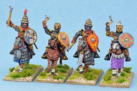 Gripping Beast 28mm Medieval Russian: Senior Druzhina (Hand Weapons) (4)