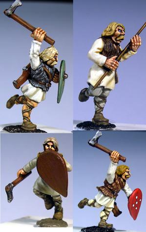 Gripping Beast 28mm Medieval Russian: Tribal Warriors (Charging) (4)