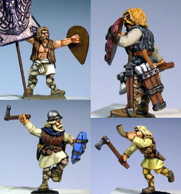Gripping Beast 28mm Medieval Russian: Tribal Warriors (Command) (4)