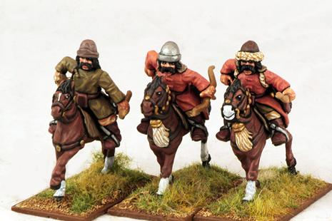 Gripping Beast 28mm Mongols: Cavalry (Archers #1) (3)