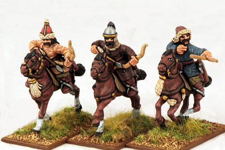 Gripping Beast 28mm Mongols: Cavalry (Archers #2) (3)